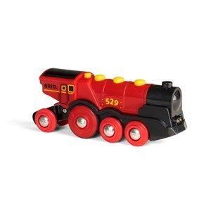 BRIO World 33592  Mighty Red Action Locomotive