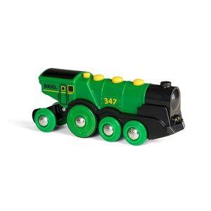 BRIO World 33593  Big Green Action Locomotive