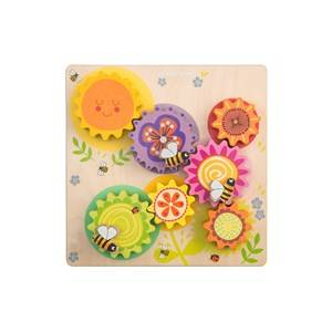 Le Toy Van Petilou Gears & Cogs Busy Bee Learning Set