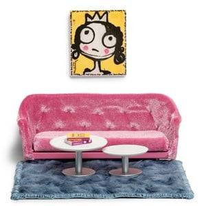 Lundby Accessories Melody Jane Living Room Set