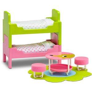 Lundby Accessories Smland Childrens Room Set