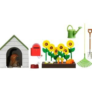 Lundby Accessories Smland Garden Set with a Doghouse