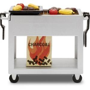 Lundby Accessories Grill Set