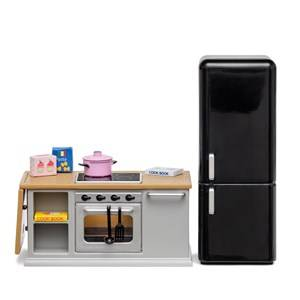 Lundby Accessories Stove and Fridge Doll House Furniture Set