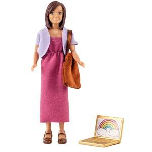 Lundby Dolls Mother with Laptop and Bag Doll Set