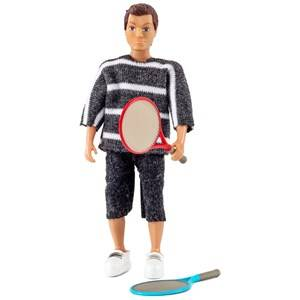 Lundby Dolls Father with Two Tennis Rackets Doll Set