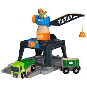 BRIO World - 33962 Smart Tech Container Crane
