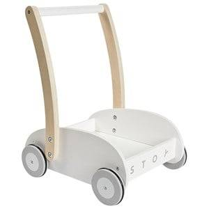 STOY Baby Walker White