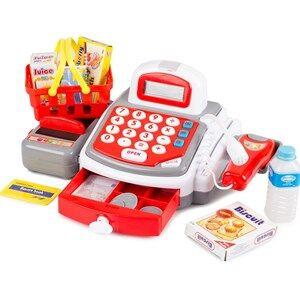 Best Time Toys Cash Register Red/White