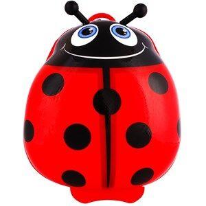 Best Time Toys Ladybug Suitcase Red