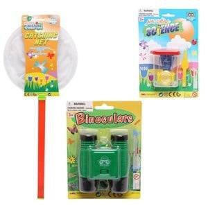 Best Time Toys Nature Science Binocular, Bug Case and Cathing Net