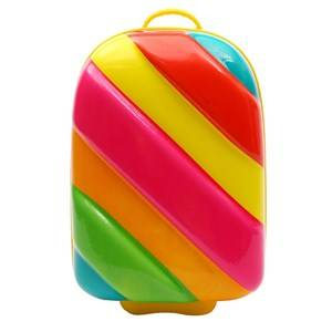 Best Time Toys Rainbow Suitcase Multicolor Holdalls