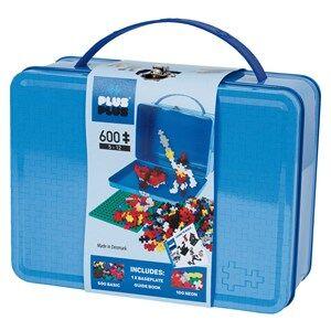 Plus-Plus 600-Piece Plus-Plus Basic Metal Suitcase