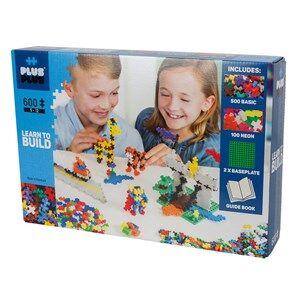 Plus-Plus 600-Piece Plus-Plus Basic Learn To Build