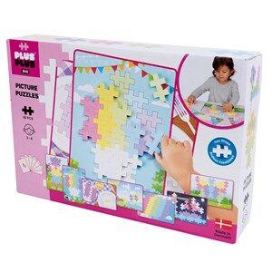 Image of Plus-Plus 60-Piece Plus-Plus BIG Pastel Picture Puzzle