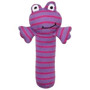 Geggamoja Unisex First toys and baby toys Purple Rattle Lilac/Cerise