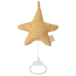 ferm LIVING Unisex First toys and baby toys Yellow Star Music Mobile