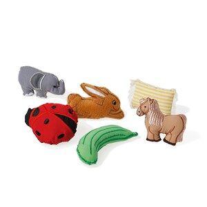 oskar&ellen; Unisex First toys and baby toys Multi Figurer Till Sångpåsen Fyra