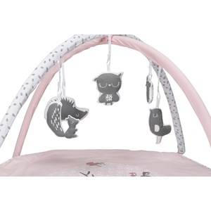 Vinter & Bloom Unisex First toys and baby toys Pink Forest Friends Baby Gym Blossom