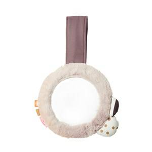 Done by Deer Girls First toys and baby toys Pink Clip-on Mirror Powder