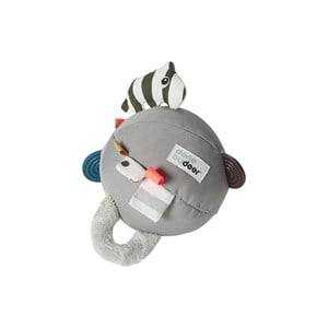 Done by Deer Unisex First toys and baby toys Grey Activity Ball Grey