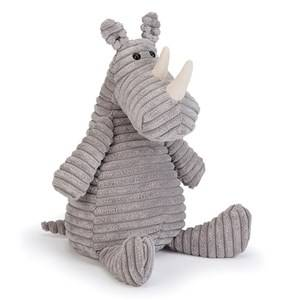 Jellycat Unisex First toys and baby toys Grey Cordy Roy Rhino Medium