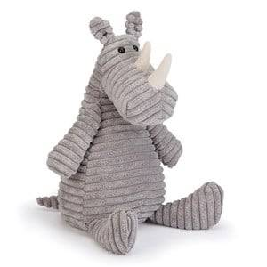 Jellycat Unisex First toys and baby toys Grey Cordy Roy Rhino Medium