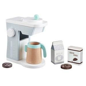Kids Concept Unisex First toys and baby toys White Toy Coffee Maker White/Grey