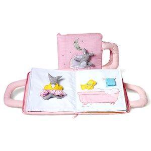 oskar&ellen; Unisex First toys and baby toys Pink Goodnight Book Pink