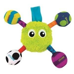 Sassy Unisex Norway Assort First toys and baby toys Green Sassy Grasp & Jitter Guy