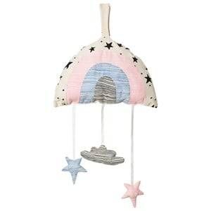 Noe & Zoe Berlin Unisex First toys and baby toys White Multi Rainbow Mobile