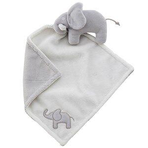 Elephant Unisex First toys and baby toys Grey Cuddle Blanket Elephant Grey