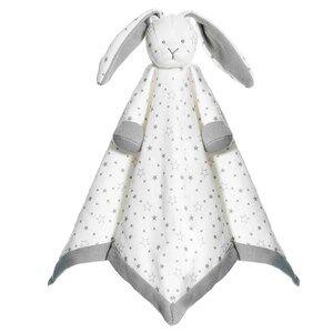 Teddykompaniet Unisex First toys and baby toys Grey Diinglisar Organic Comfort Blanket Grey Stars