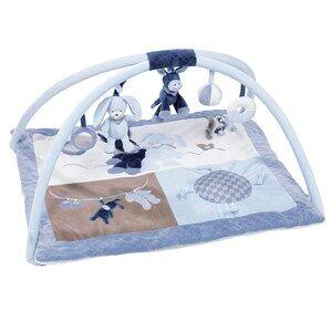 Nattou Unisex Norway Assort First toys and baby toys Blue Babygym Alex & Bibou Fyrkantig