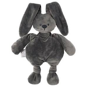 Nattou Unisex Norway Assort First toys and baby toys Grey Lapidou Soft Toy Dark Grey