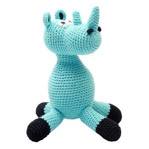 natureZOO Mr Rhino Musical Toy Turquoise