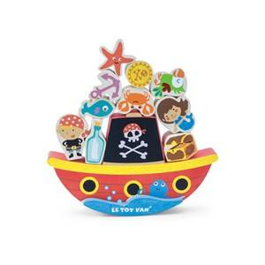 Le Toy Van Rock and Stack Pirate Balance Game
