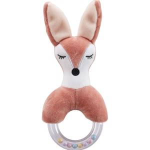 Kids Concept Fox Character Teething Rattle