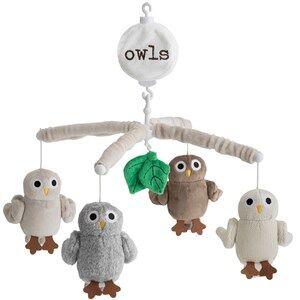 rattstart Owls Musical Mobile
