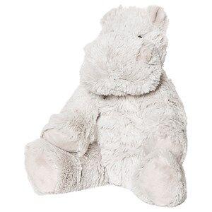 STOY Hippo Soft Toy White 30 cm