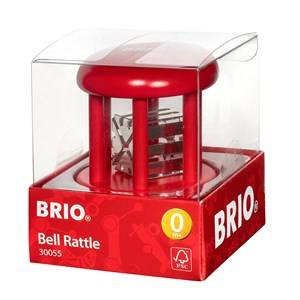 BRIO Baby  30055 Bell Rattle Red