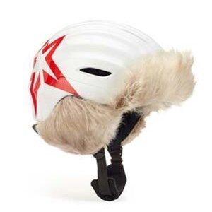 Perfect Moment White Polar Star Print Helmet