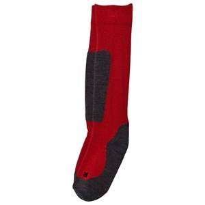 Falke Active Ski Socks Knee-High Red 31-34 (UK 12-2.5)