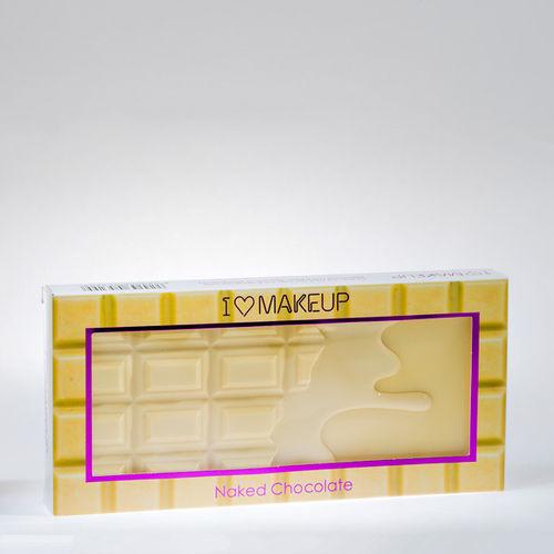 EAN Code 5029066053299 Makeup Revolution I love Makeup Nake Chocolate 22gr - Mikali maksat tilauksesi kateisennakolla, niin saat ylimaaraisen 5% alennuksen! Ei ole merkityst?, kuinka paljon tilaat tai kuinka painava pakettisi on, koska toimitus on aina maksimissaan 3,95 euroa. Yli 50 euron tilauksiin saat aina ilmaisen toimituksen! 25007