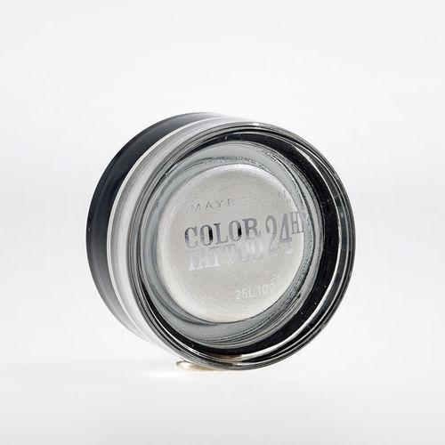 EAN Code 3600530777617 Maybelline Eye Studio Color Tattoo 24 HR 45 Infinite White 4ml - Mikali maksat tilauksesi kateisennakolla, niin saat ylimaaraisen 5% alennuksen! Ei ole merkityst?, kuinka paljon tilaat tai kuinka painava pakettisi on, koska toimitus on aina maksimissaan 3,95 euroa. Yli 50 euron tilauksiin saat aina ilmaisen toimituksen! 25347