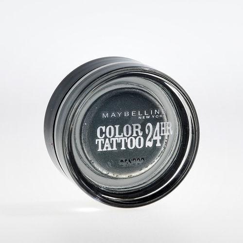 EAN Code 3600530777631 Maybelline Eye Studio Color Tattoo 24 HR 55 Immortal Charcoal 4ml - Mikali maksat tilauksesi kateisennakolla, niin saat ylimaaraisen 5% alennuksen! Ei ole merkityst?, kuinka paljon tilaat tai kuinka painava pakettisi on, koska toimitus on aina maksimissaan 3,95 euroa. Yli 50 euron tilauksiin saat aina ilmaisen toimituksen! 25349