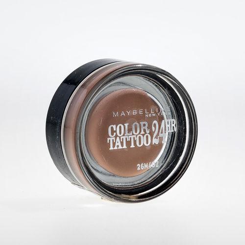 EAN Code 3600531038250 Maybelline Eye Studio Color Tattoo 24 HR 91 Creme De Rose 4ml - Mikali maksat tilauksesi kateisennakolla, niin saat ylimaaraisen 5% alennuksen! Ei ole merkityst?, kuinka paljon tilaat tai kuinka painava pakettisi on, koska toimitus on aina maksimissaan 3,95 euroa. Yli 50 euron tilauksiin saat aina ilmaisen toimituksen! 25381