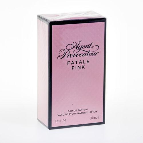 EAN Code 85715731517 Agent Provocateur Fatale Pink Eau de Parfum 50 ml - Mikali maksat tilauksesi kateisennakolla, niin saat ylimaaraisen 3% alennuksen! Ei ole merkityst?, kuinka paljon tilaat tai kuinka painava pakettisi on, koska toimitus on aina maksimissaan 3,95 euroa. Yli 50 euron tilauksiin saat aina ilmaisen toimituksen! 25705