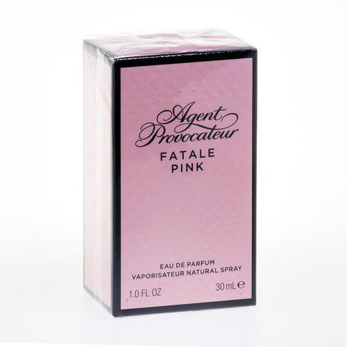 EAN Code 85715731517 Agent Provocateur Fatale Pink Eau de Parfum 30 ml - Mikali maksat tilauksesi kateisennakolla, niin saat ylimaaraisen 3% alennuksen! Ei ole merkityst?, kuinka paljon tilaat tai kuinka painava pakettisi on, koska toimitus on aina maksimissaan 3,95 euroa. Yli 50 euron tilauksiin saat aina ilmaisen toimituksen! 25709
