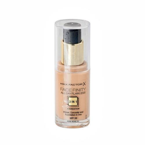 7 Max Factor Face Finity All Day Flawless 3 in 1 Foundation 65 Rose Beige 30 ml